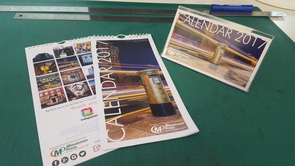 Minuteman Press in Cardiff, Wales - 2017 Cardiff Landmarks Calendar
