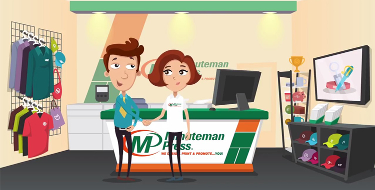 VIDEO: Minuteman Press United Kingdom Printing Franchise - Business Branding, Marketing, Promotional Products http://www.minutemanpressfranchise.co.uk