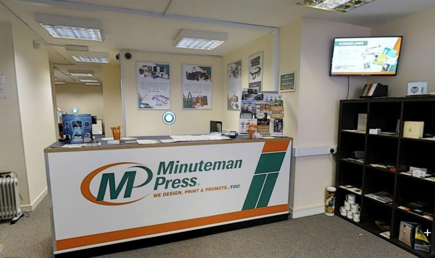 What Does a Modern Printing Franchise Look Like? Take a Virtual Tour of Minuteman Press in Torquay http://www.minutemanpressfranchise.co.uk