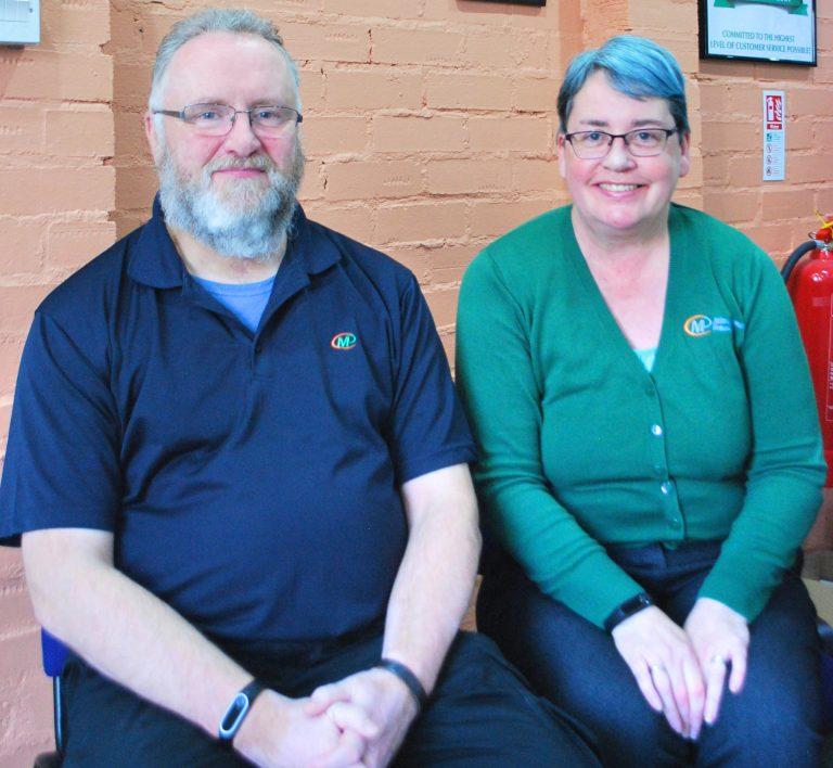 Richard and Jayne Morgan, award-winning franchisees, Minuteman Press printing and marketing franchise, Helensburgh, Scotland. https://minutemanpressfranchise.co.uk